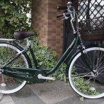 かるーい自転車。ブリヂストン アルミーユ。