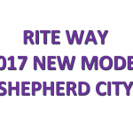 2017 NEW MODEL RITEWAY SHEPHERD CITY