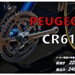 ビッカビカ!で眩しい PEUGEOT CR61