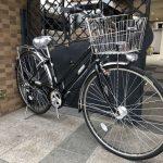 キャリアと両立スタンドを標準装備のシティサイクル 丸石サイクル / フォーメーションシティ