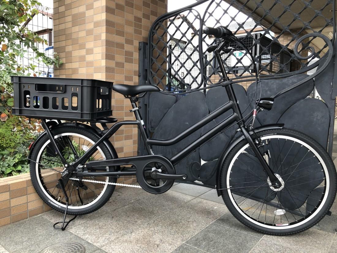 荷物を沢山積める自転車あります!ブリヂストン / トートボックス ...